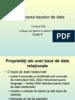 Data Base Limbaj SQL