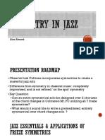 Alex Almond_Symmetry in Jazz