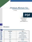 26 Minimum Alternative Tax Basics