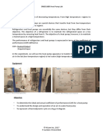Heat Pump Lab Sheet