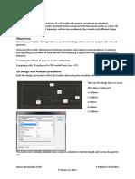 CAD Report 1