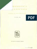 Humanistica Lovaniensia-Volume XLII