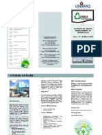 Brochure Scheduled Waste Management at Workplace