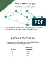 PERT Exercise1 Q