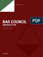 Newsletter de la MBA
