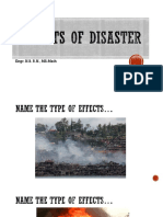 Effects of Disaster Quiz