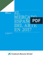 El mercado español del arte en 2017