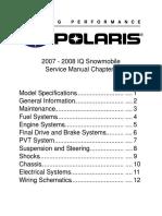 2007 POLARIS 600 HO IQ LX CFI SNOWMOBILE Service Repair Manual.pdf