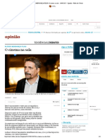 KLEBER MENDONÇA FILHO_ O cinema na sala - 14_09_2017 - Opinião - Folha de S