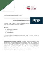 Collaborazione Fondazione Pellicani e CeSPI