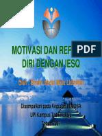 Motivasi Dan Refleksi Diri Dengan IESQ-PPT