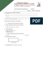 Evaluación de Nivelacion -II Periodo