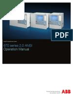 Operation Manual 670 Series 2.0 ANSI En
