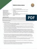 Perfil de Puestos Comisaria Aijch