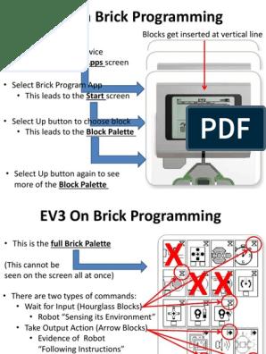 EV3 On Brick Programming-1 pptx