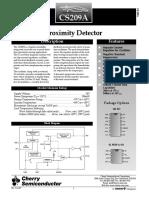 datasheet CS209A