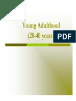 Young Adulthood Presentation 1