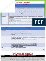 Matriz Comparacion Empresas Tatiana Castro