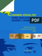 (Varias Autoras) Congreso Estatal Fiio Sobre Igualdad Entre Hombres Y Mujeres.pdf