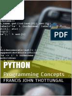 Python Programming Concepts