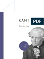 Scruton, Roger Kant a Brief Insight