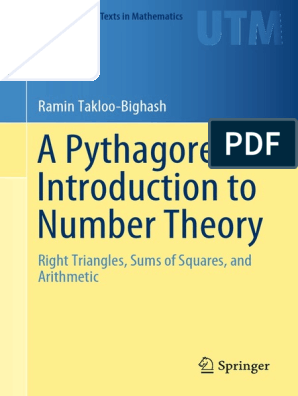 TAKLOO-BIGHASH, RAMIN - A Pythagorean Introduction to Number Theory_