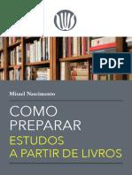Como preparar estudos a partir de livros