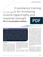 2017 - Howe - Advanced Resistance Training Strategies for Increasing Muscle Hypertrophy and Maximal Strength