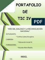 Cinthia Portafolio IV Tic 16-11-2018