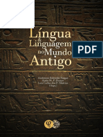 Língua e linguagem no Mundo Antigo