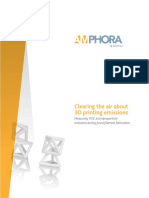 Clearing the Air about 3d printer emissions
