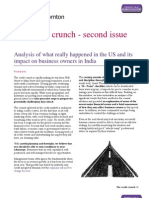 The Credit Crunch-Second Issue