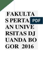 FAKULTASa