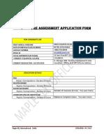 PA Form