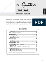 SLG110S Owners Manual