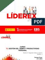 Liderex t5 Sesion 3