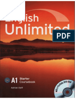 A1 English Unlimited Coursebook