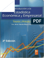Introduccion a La Estadistica Economica y Empresarial. Martin-Pliego. Tercera Edicion