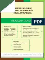 Programa I Escuela de Verano en PSC