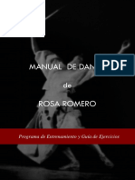 Rosa Romero Manual de Danza