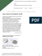 Hacer Sensor Pir, RE200B, LHi778 y PIR325, Control Sensores Piroelectricos BISS0001, KC778B y PT8A2612