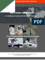 Curso Especialista en inmunología
