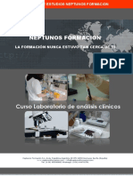 Curso laboratorio de análisis clínicos