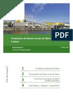 6 Production de BA de Fibres en Centrales CPloyaert Inter-Beton