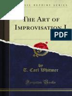 The Art of Improvisation I 1000094285