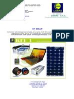 Kits Liders - Tecnologia recargable