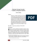 Pak Energy Security