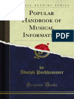 Popular Handbook of Musical Information 1000020800