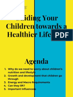 Guiding Your Kid to a Healthier Lifestyle