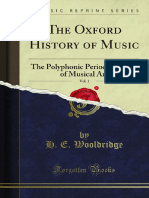The Oxford History of Music v1 1000067530